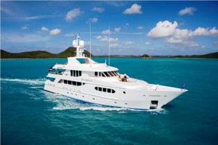 View large version of image: Superyacht PERLE BLEUE available for Caribbean and Bahamas Yacht Charter