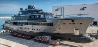 View large version of image: CRN Yachts to launch new 55m motor yacht CRN 134 in less than a month