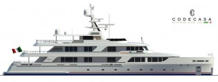 View large version of image: Codecasa to deliver new Superyacht GAZZELLA (hull C 121) in July 2015