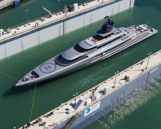 View large version of image: SILVERYACHTS announce launch of 77m superyacht SILVER FAST