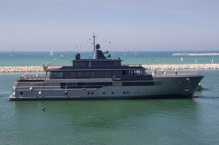 View large version of image: CRN launch 55m Superyacht ATLANTE