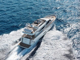View large version of image: 23m AIMILIA yacht available for Greece and Turkey Yacht Charters this Summer