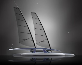 View large version of image: Ground-breaking 100ft MARS Autonomous Ship to Cross the Atlantic