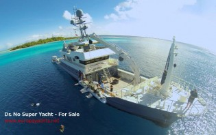 View large version of image: Dr No and her Super Falcon submarine are back on the market !
