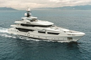 View large version of image: Award-Winning 46m Motor Yacht ENTOURAGE now Available for Caribbean Yacht Vacations