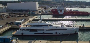 View large version of image: Launch of Brand New Wider 150 Yacht GENESI