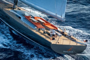 View large version of image: Baltic 115 Sailing Yacht NIKATA delivered