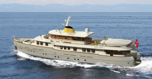 View large version of image: Su Marine working on New 36m Classic Yacht CMY 36 by Taka Yacht Design