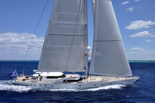 View large version of image: Charter Sailing Yacht HYPERION for St Barth Bucket in the Caribbean