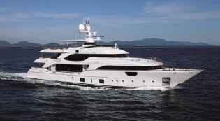 View large version of image: Crystal 140 Superyacht MR D by Benetti to make her US premiere at Yachts Miami Beach 2016