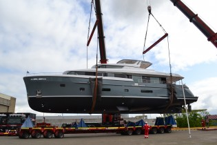 View large version of image: Motor Yacht Bijoux is launched