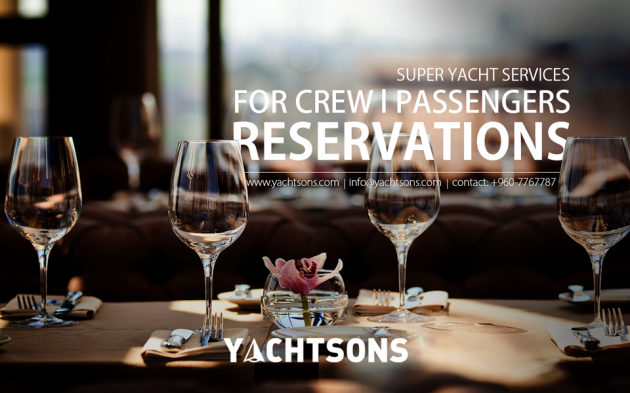 View large version of image: Hotel Reservation for Super Yachts