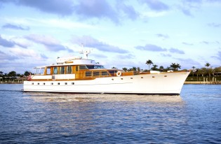 View large version of image: 1963 84' Trumpy Yacht