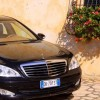 Exclusive Limousine chauffeur car hire in Italy