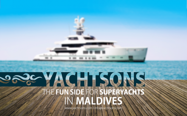 View large version of image: The Fun Side for Super-yachts in Maldives