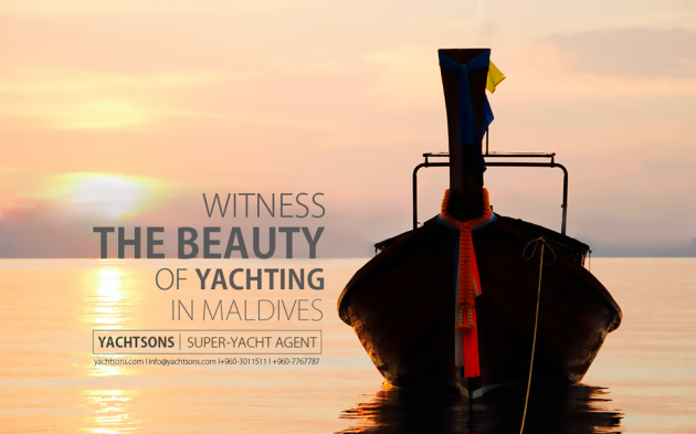 View large version of image: Witness the beauty of Yachting in Maldives l Yachtsons