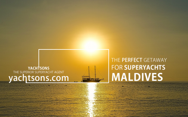 View large version of image: The perfect getaway for superyachts l Maldives