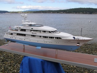 View large version of image: new 182 Feadship scale model