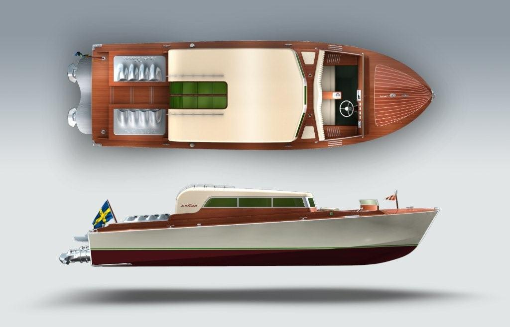 ... yacht tenders, and day cruiser yachts, in wood with a classic design